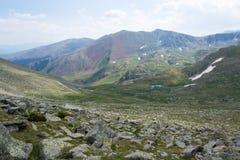 Ландшафт затишья гор Пиренеи Стоковое фото RF