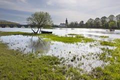 Ландшафт зеленого цвета _Ponte de Лимы Стоковое Изображение RF