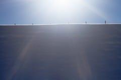 Ландшафт зимы с загородкой Стоковые Фотографии RF