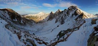 Ландшафт зимы - Rohace Стоковые Изображения RF