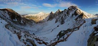 Ландшафт зимы - Rohace Стоковая Фотография