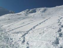 Ландшафт зимы Snowy стоковые фотографии rf