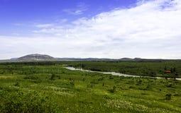 Ландшафт Исландии Стоковые Изображения RF