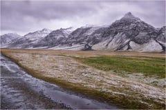 Ландшафт Исландии Horgsland Стоковые Изображения RF