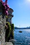 Ландшафт Италии на главном озере Стоковое Изображение