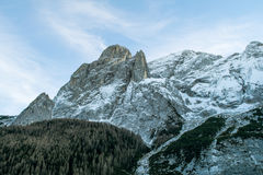 Ландшафт итальянских доломитов Стоковые Фотографии RF
