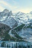 Ландшафт итальянских доломитов Стоковое Изображение RF
