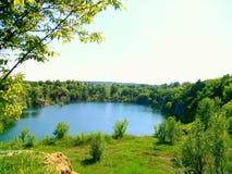 Ландшафт и вода Стоковое Изображение