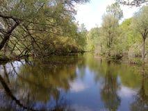 Ландшафт и вода Стоковое Изображение RF