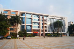 Ландшафт кампуса Стоковая Фотография RF