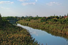Ландшафт канала Стоковое фото RF