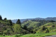 Ландшафт Калифорнии стоковое изображение