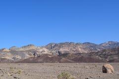 Ландшафт Калифорния горы Стоковые Изображения RF