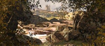 ландшафт Керри Ирландии графства Стоковая Фотография