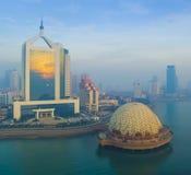Ландшафт Китай побережья Qingdao стоковая фотография