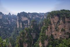 Ландшафт Китай Zhangjiajie Стоковое Изображение RF