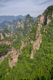 Ландшафт Китай Zhangjiajie Стоковые Изображения