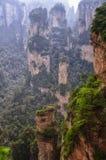 Ландшафт Китай Zhangjiajie Стоковое Фото