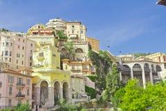 Ландшафт княжества Monako monte carlo Стоковые Изображения