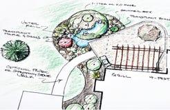 ландшафт конструкции Стоковая Фотография RF