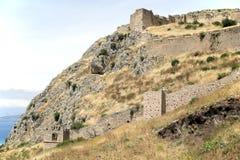 Ландшафт Коринфа, Греция стоковые изображения rf