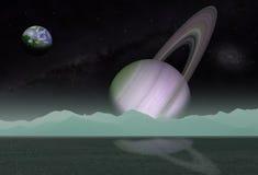 Ландшафт космоса Стоковое Изображение RF