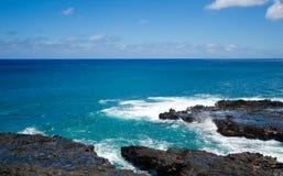 Ландшафт красивого океана Стоковое Изображение
