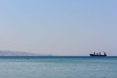 Ландшафт Красного Моря стоковая фотография