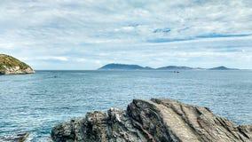 Ландшафт к морю Стоковые Фото