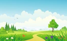 Ландшафт ЛЕТА бесплатная иллюстрация