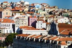 Ландшафт Лиссабона стоковое изображение rf