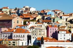 Ландшафт Лиссабона стоковые изображения