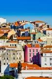 Ландшафт Лиссабона стоковое фото rf