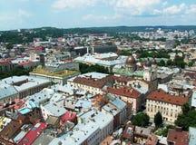 Ландшафт Львова, Украина Стоковые Изображения