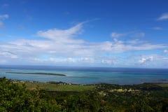 Ландшафт Маврикия Стоковые Фотографии RF