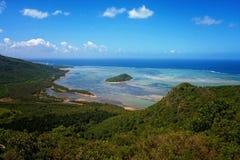 Ландшафт Маврикия Стоковое Изображение RF