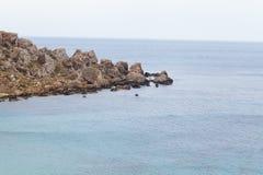 Ландшафт, Мальта, Gozo Стоковые Изображения RF