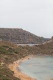 Ландшафт, Мальта, Gozo Стоковое Фото