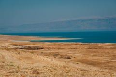 Ландшафт мертвого моря, Израиля Стоковые Фото