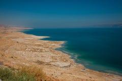 Ландшафт мертвого моря, Израиля Стоковые Фотографии RF
