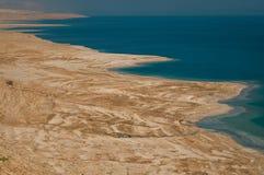 Ландшафт мертвого моря, Израиля Стоковые Изображения