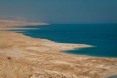 Ландшафт мертвого моря, Израиля Стоковое Фото