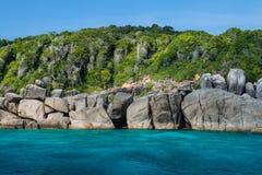 Ландшафт моря моря andaman Стоковое Изображение RF