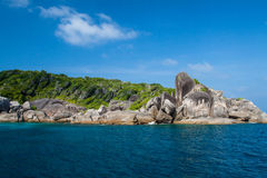 Ландшафт моря моря andaman Стоковые Изображения