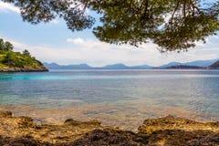 Ландшафт моря Beautyful Стоковые Фото