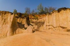 Ландшафт мочи Forest Park Phae Muang в северной Thail Стоковая Фотография RF