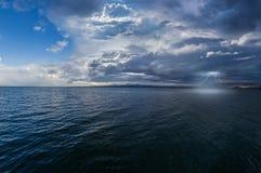 Ландшафт молнии Стоковая Фотография RF