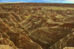 Ландшафт национального парка неплодородных почв Стоковое фото RF