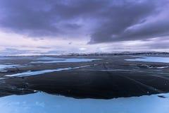 Ландшафт национального парка Abisko, Швеции стоковое фото rf