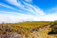 Ландшафт национального парка Haleakala, Мауи, Гаваи Стоковые Фотографии RF